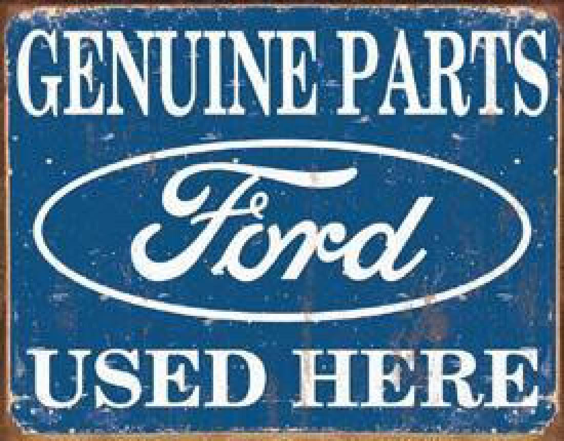 Ford Parts Used Here