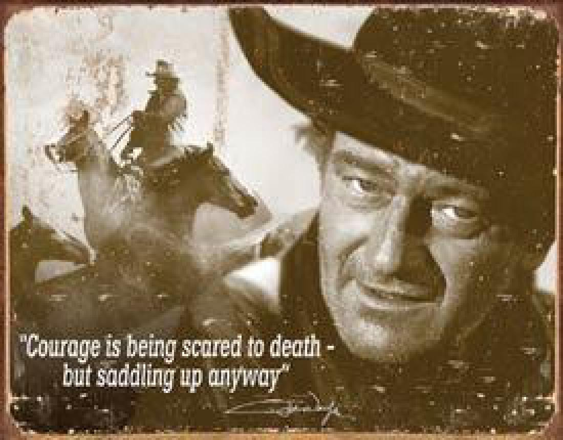 John Wayne - Courage