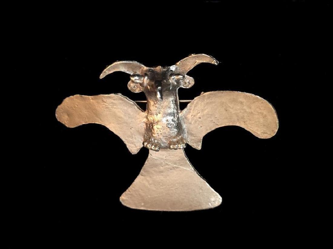Vintage Alva Museum Ancient Bird Brooch Pin