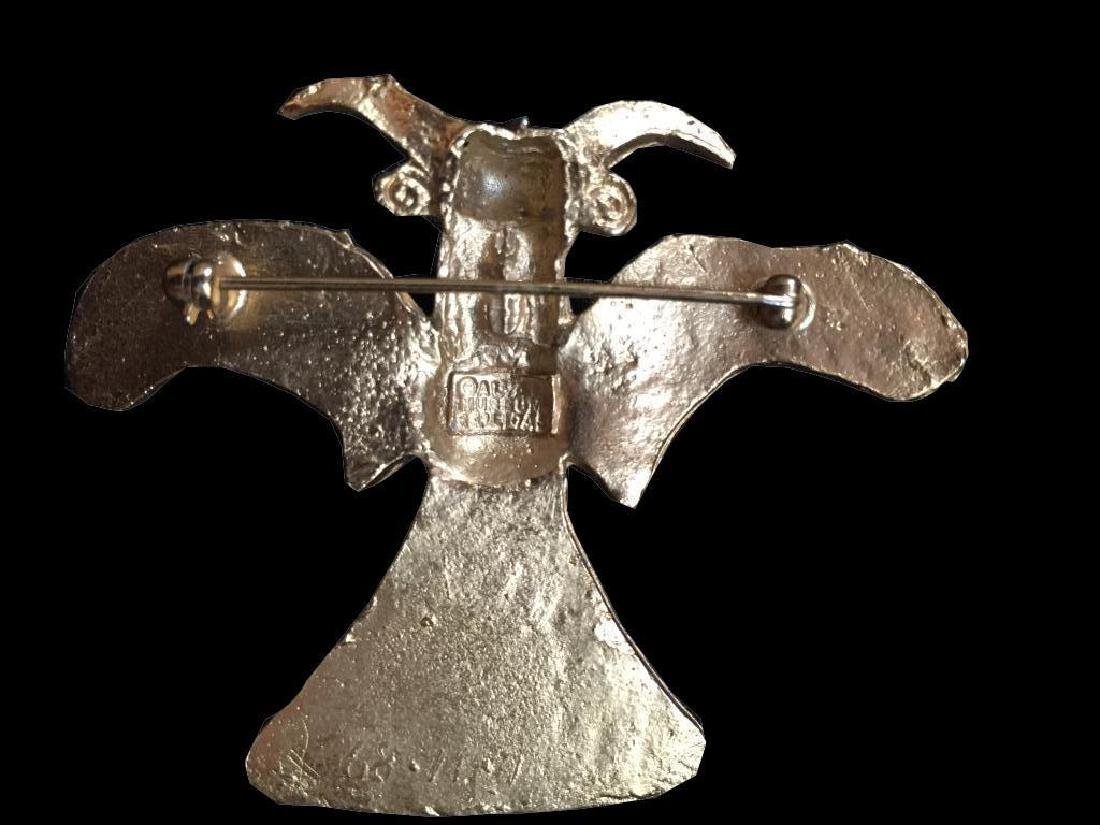 Vintage Alva Museum Ancient Bird Brooch Pin - 3