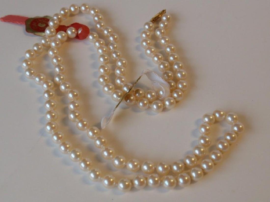 """30"""" Cultura Oyster Shell Pearl  Necklace - 3"""