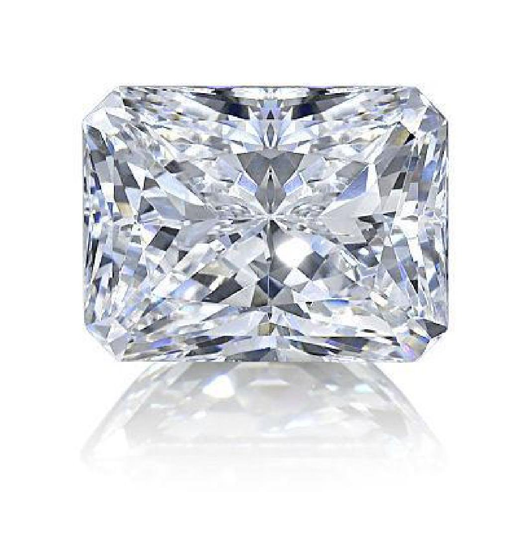 3ct Radiant Cut BIANCO Diamond