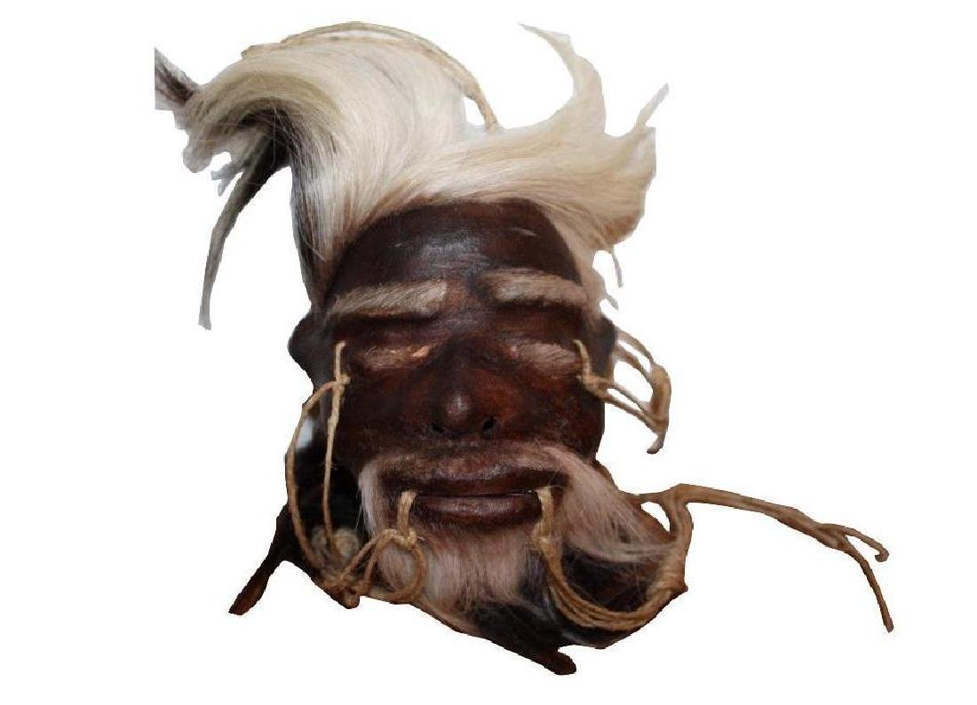 Movie Prop Shrunken Head, Tsantsa