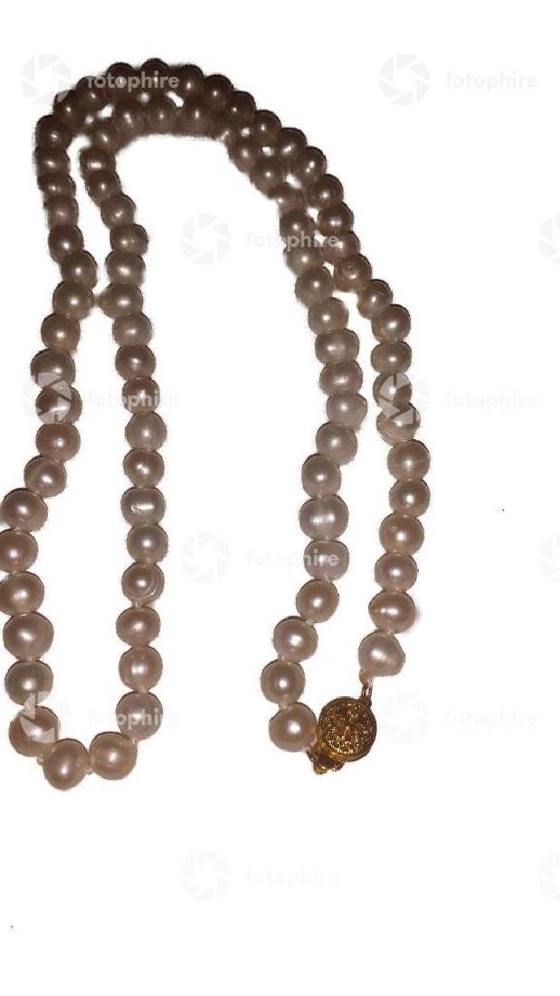 Saltwater Pearls 25'' White Goldtone Clasp