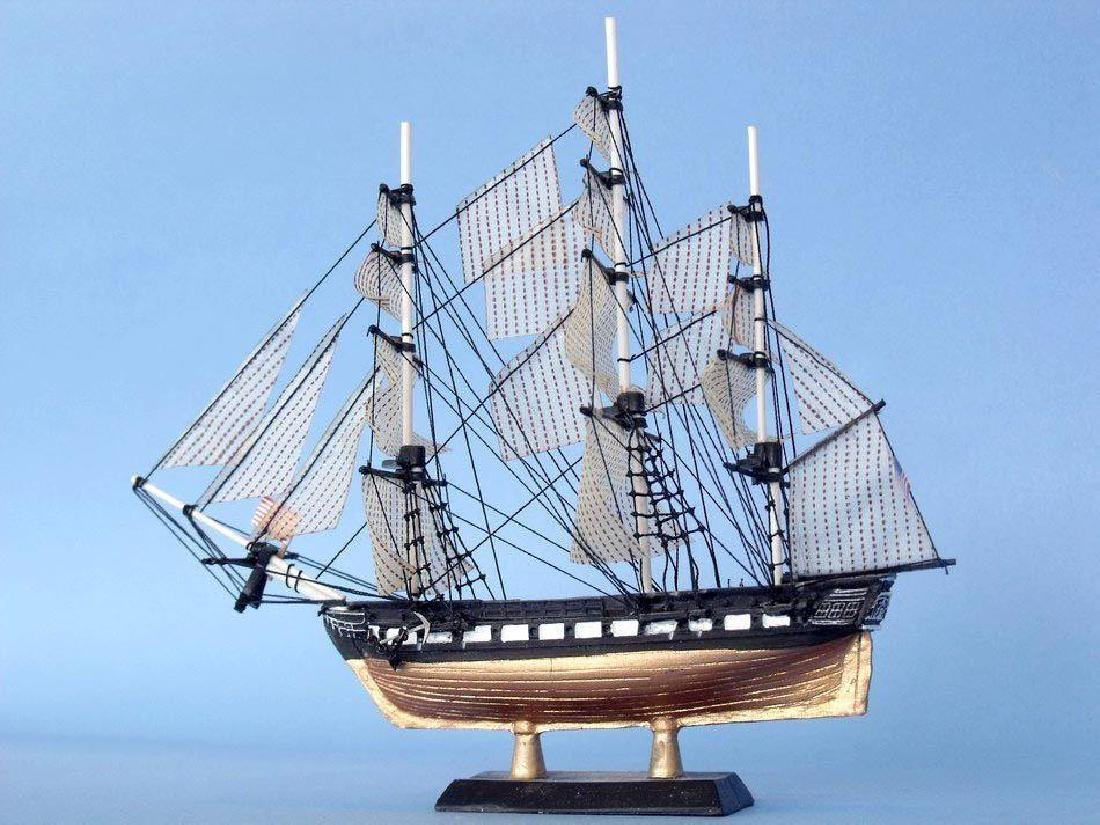 """USS Constitution Limited Tall Model Ship 7"""" - 2"""