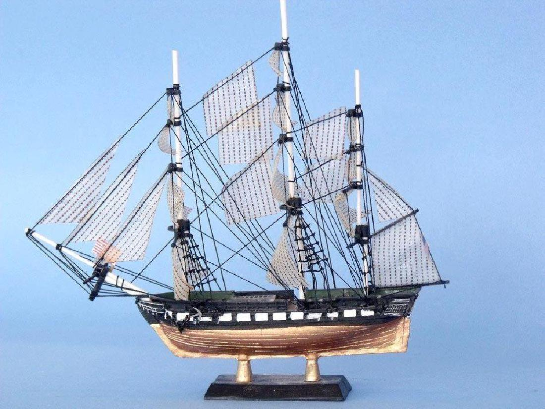 """USS Constitution Limited Tall Model Ship 7"""" - 3"""