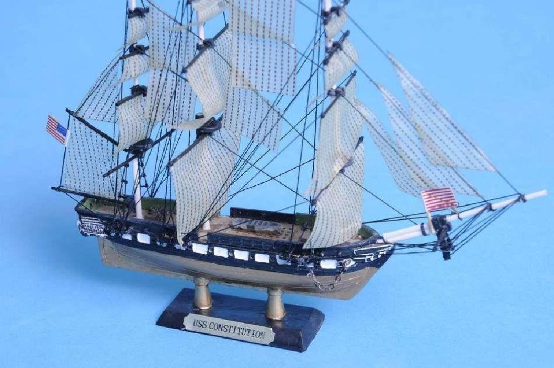 """USS Constitution Limited Tall Model Ship 7"""" - 5"""