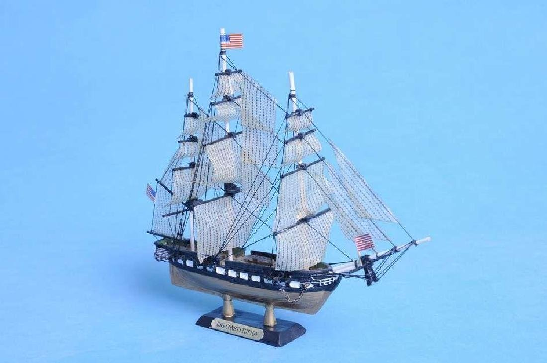"""USS Constitution Limited Tall Model Ship 7"""" - 6"""