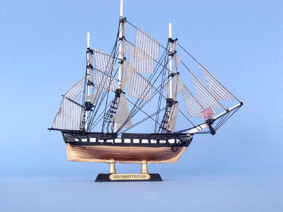 """USS Constitution Limited Tall Model Ship 7"""" - 7"""