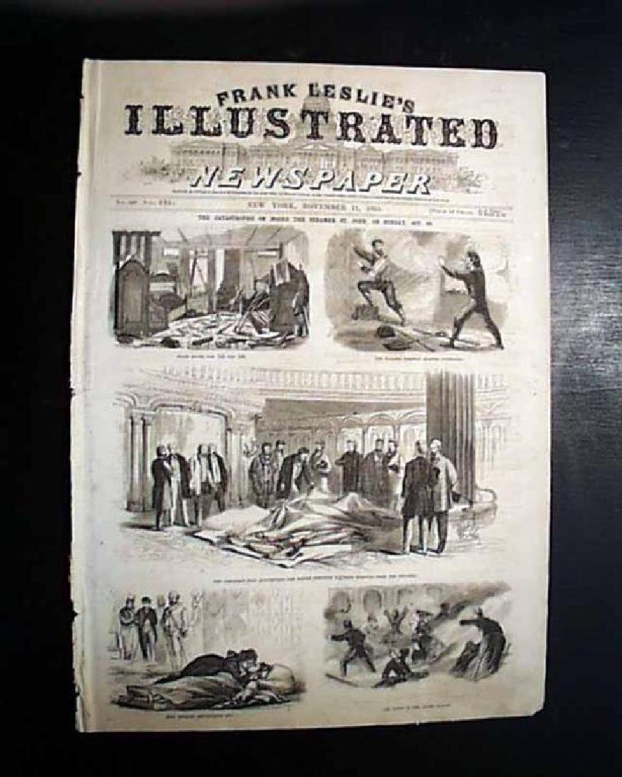 1865 Civil War Leslie's Illustrated Newspaper, NY