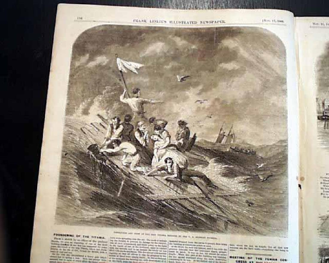 1865 Civil War Leslie's Illustrated Newspaper, NY - 4