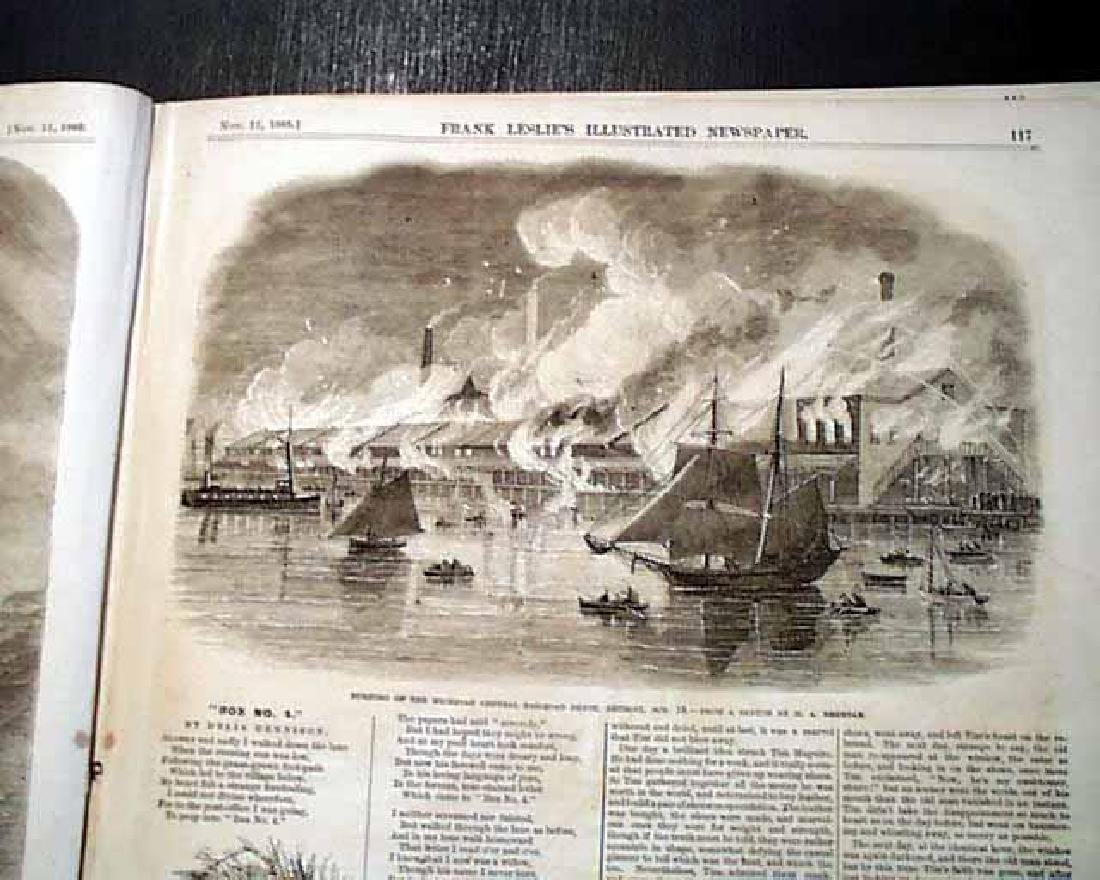 1865 Civil War Leslie's Illustrated Newspaper, NY - 5
