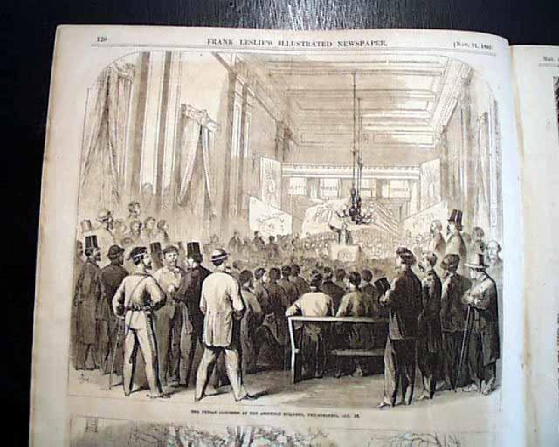 1865 Civil War Leslie's Illustrated Newspaper, NY - 6