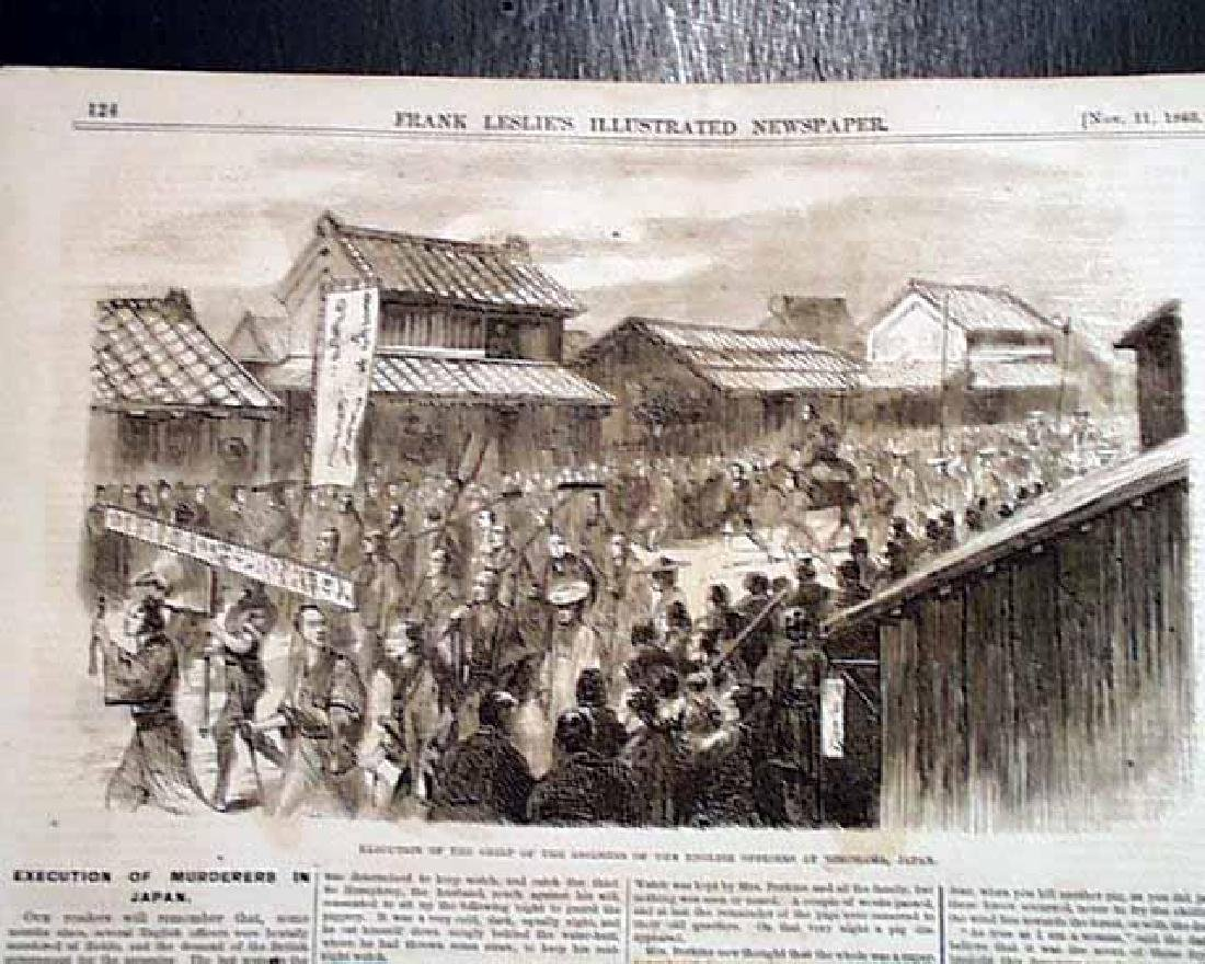 1865 Civil War Leslie's Illustrated Newspaper, NY - 8