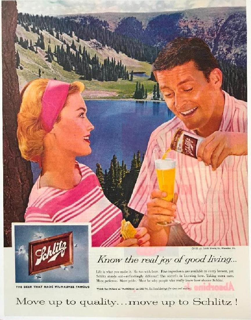 1959 Schmitz Beer Magazine Advertisement