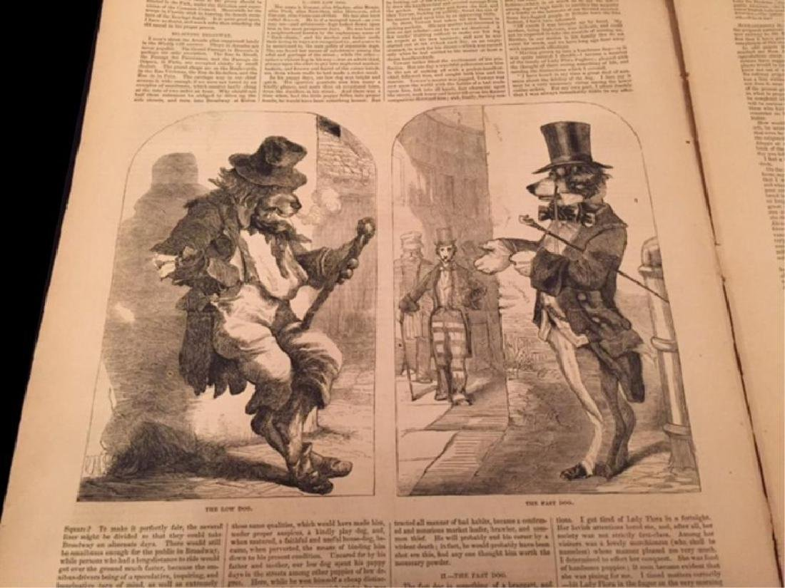 1850's Harper's Weekly & Gleason's Pictorial - 2