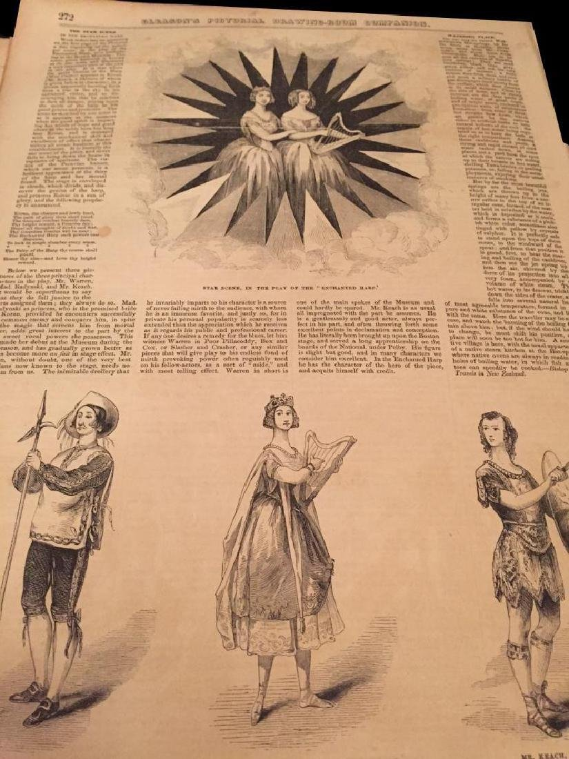 1850's Harper's Weekly & Gleason's Pictorial - 8