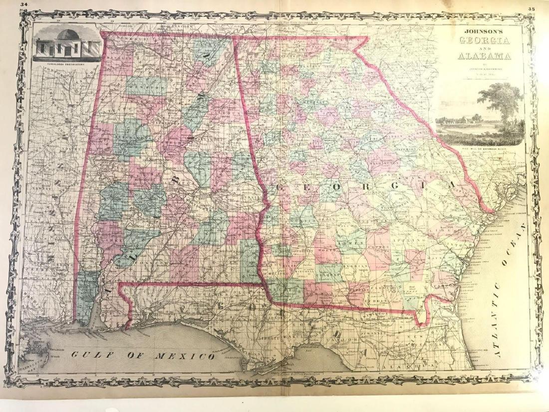 Johnson's Georgia and Alabama