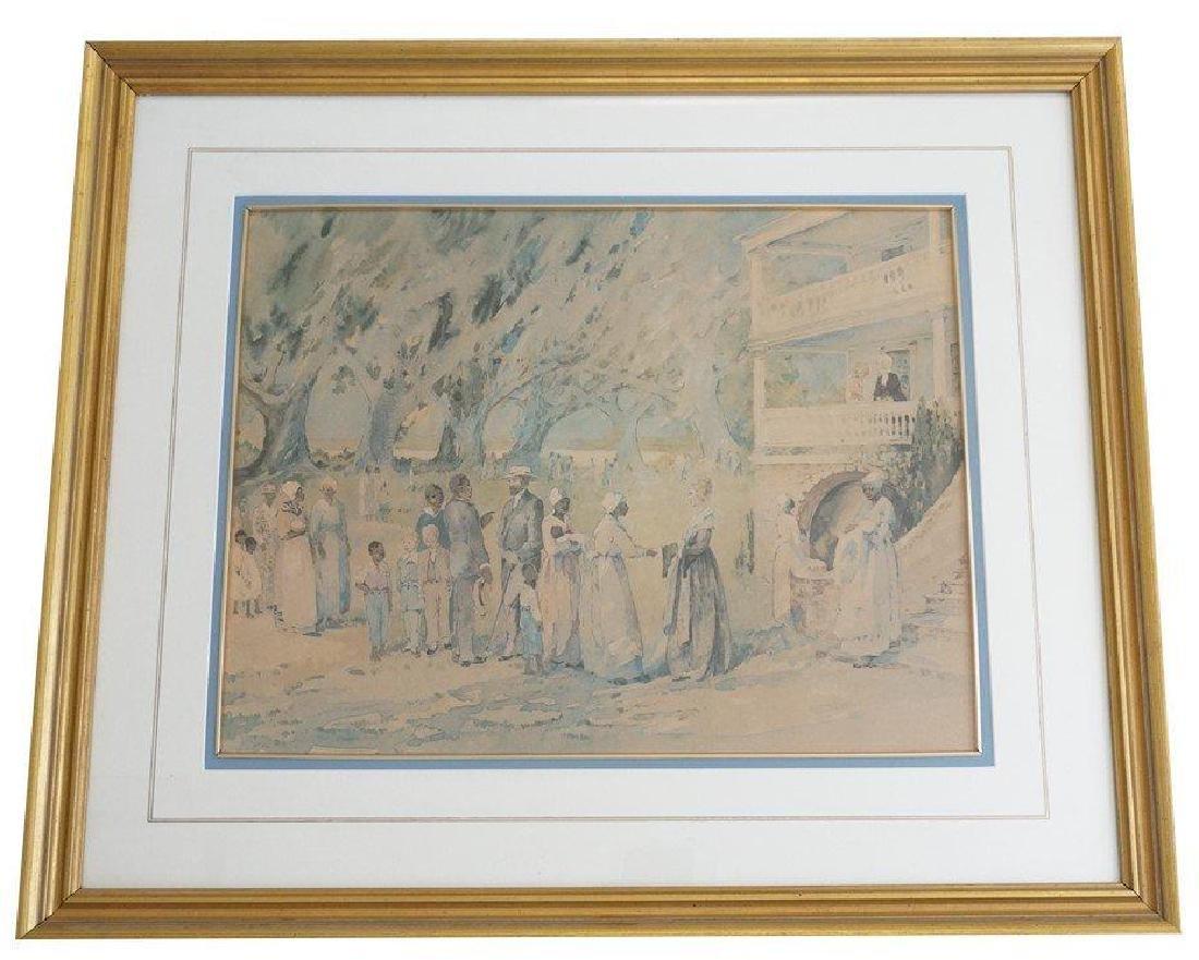 Alice Ravenel Huger Smith Limited Edition Framed