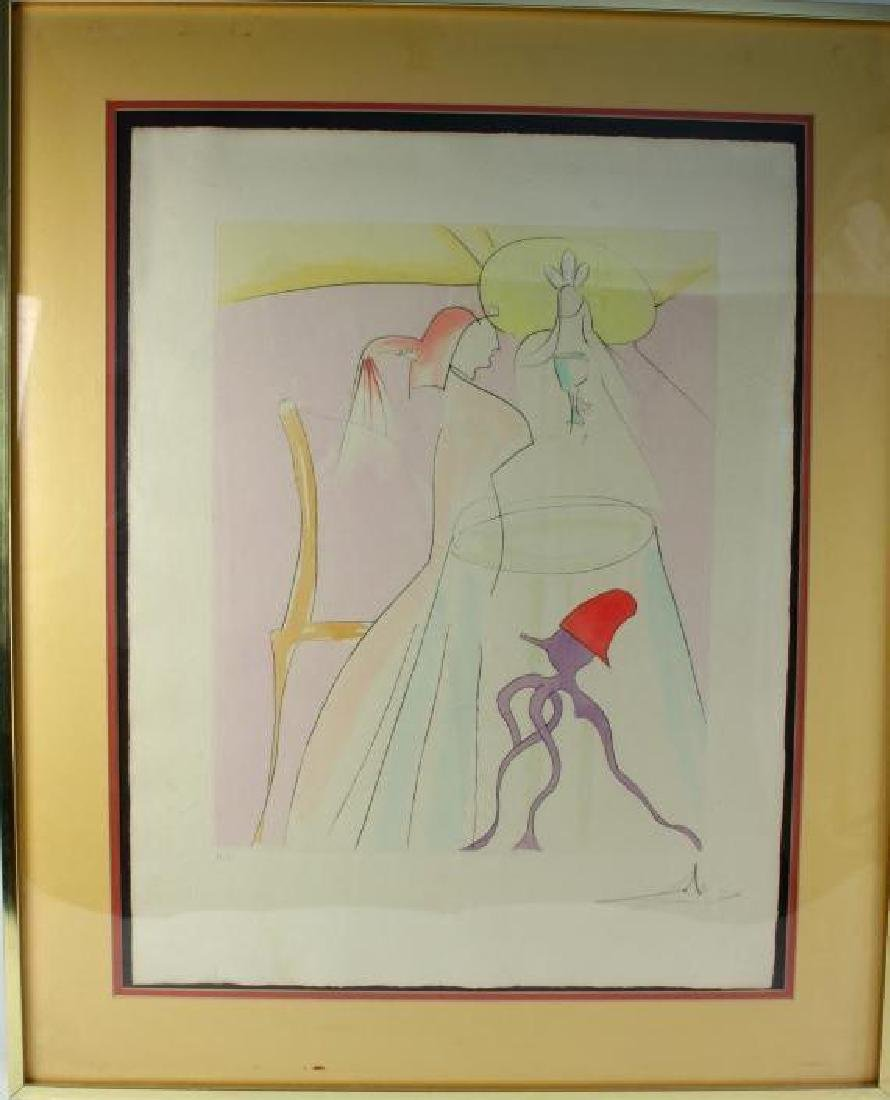 1976 Dali, Japanese Fairy Tales Etching
