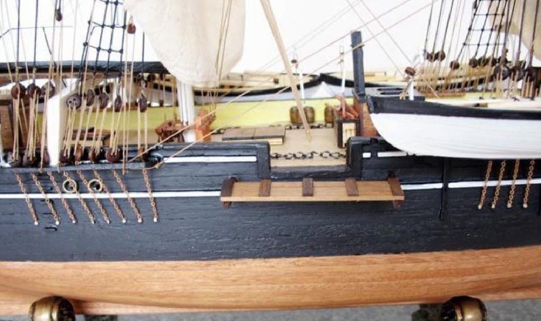 "Charles W. Morgan Limited 32"" Model Ship - 3"