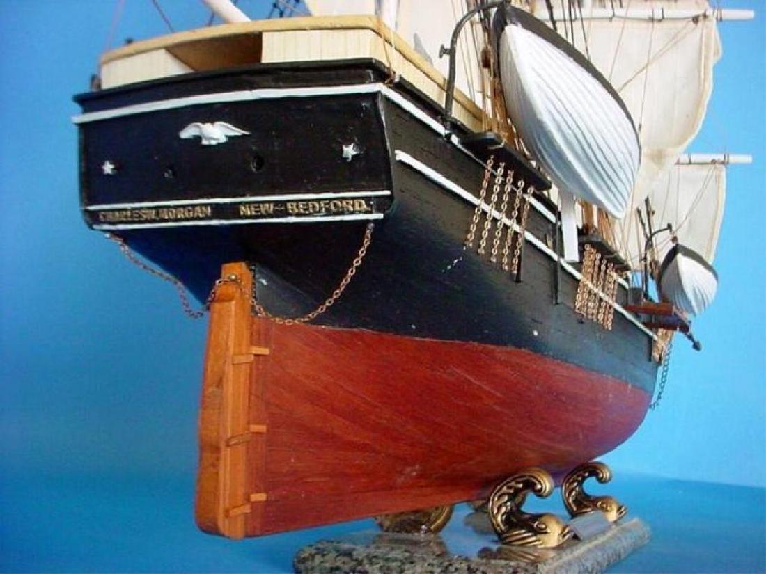 "Charles W. Morgan Limited 32"" Model Ship - 7"