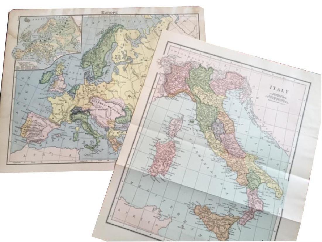 Original Antique Maps of Italy & Europe
