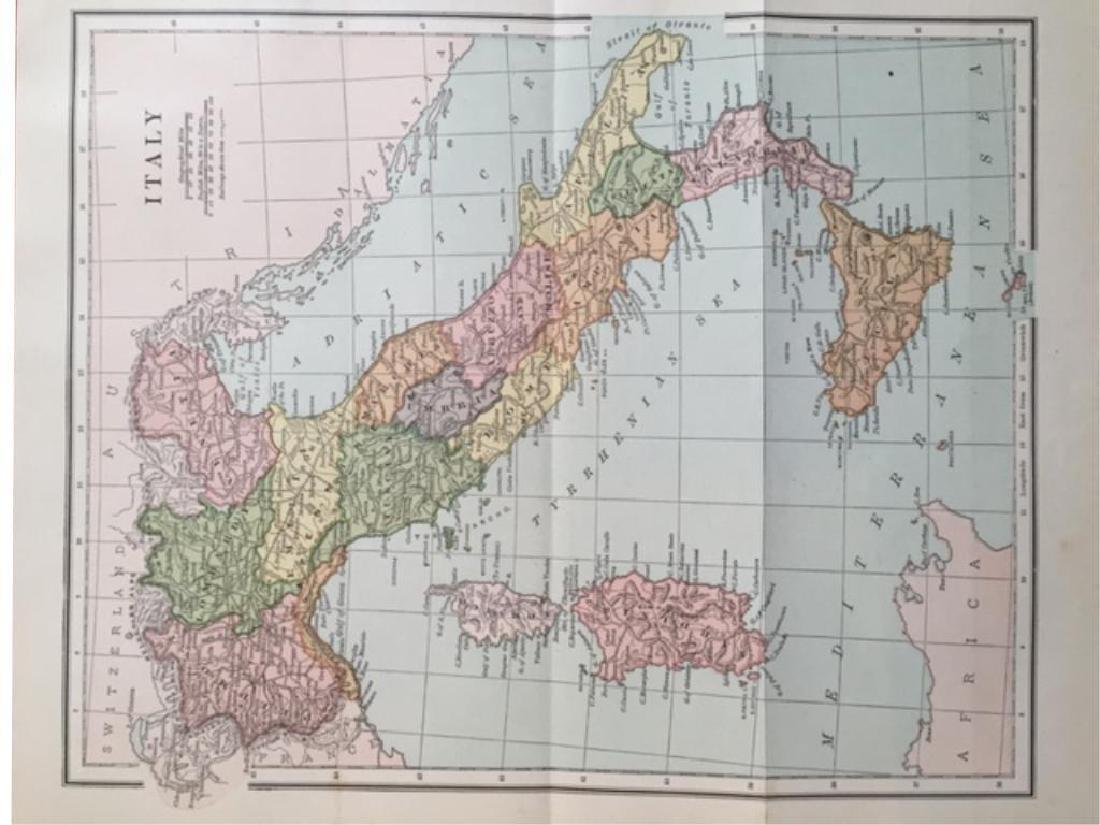 Original Antique Maps of Italy & Europe - 4