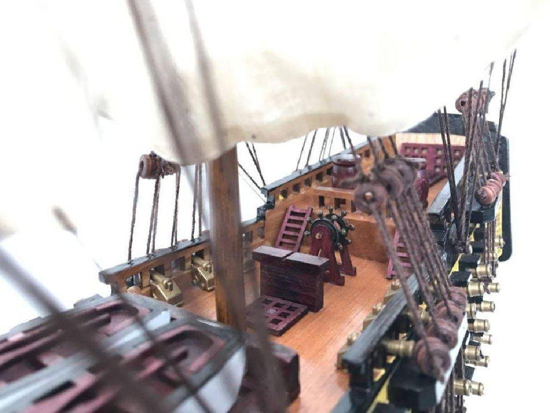 Wooden Hms Victory Tall Model Ship 24'' - 3