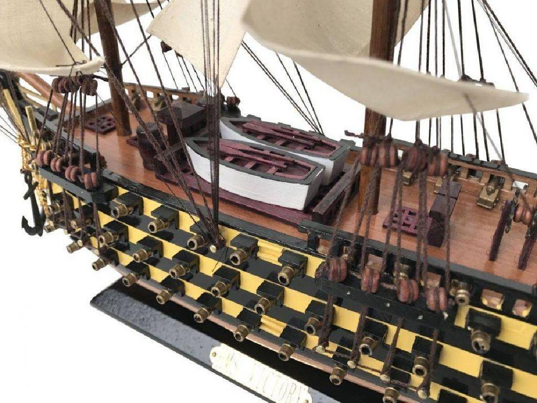 Wooden Hms Victory Tall Model Ship 24'' - 4