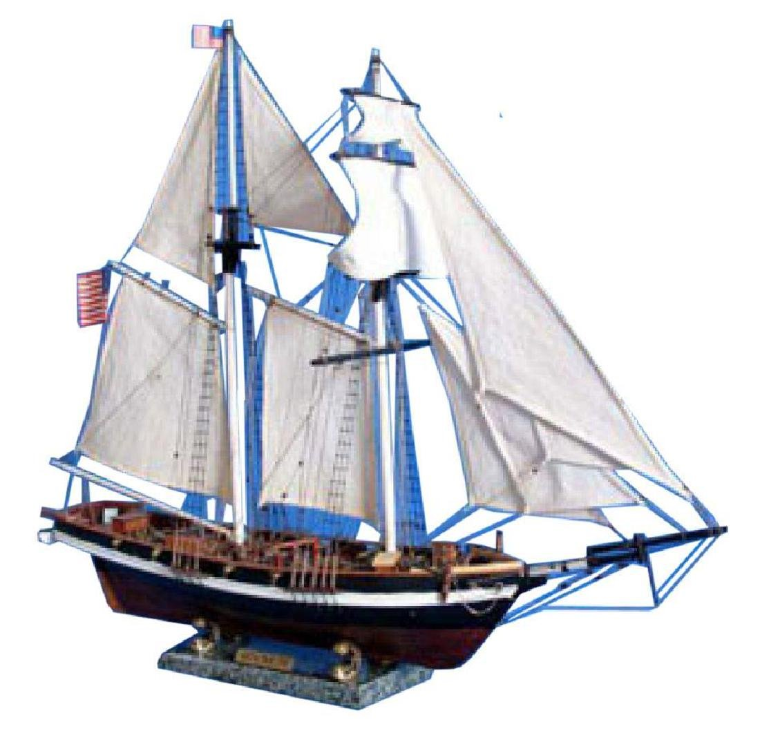 Wooden Baltimore Clipper Harvey Tall Model Ship 32""