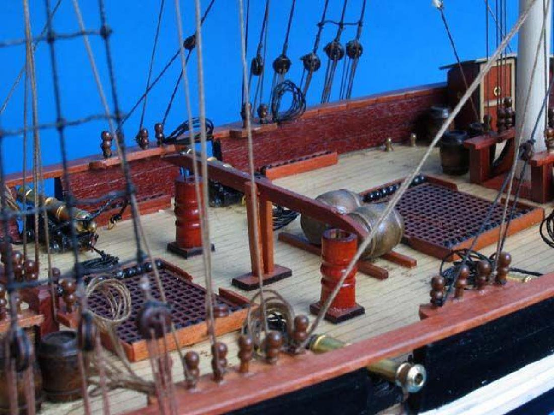 "Wooden Baltimore Clipper Harvey Tall Model Ship 32"" - 9"