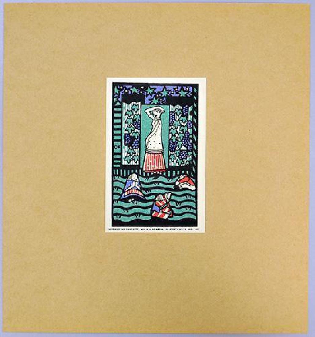 Oskar Kokoschka Vintage Limited Lithograph Postcard - 2