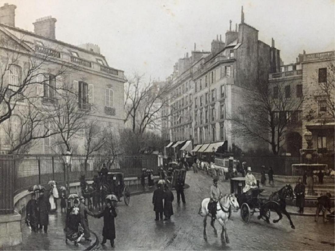 19thc Photogravure Print, Saint Georges, Paris - 2