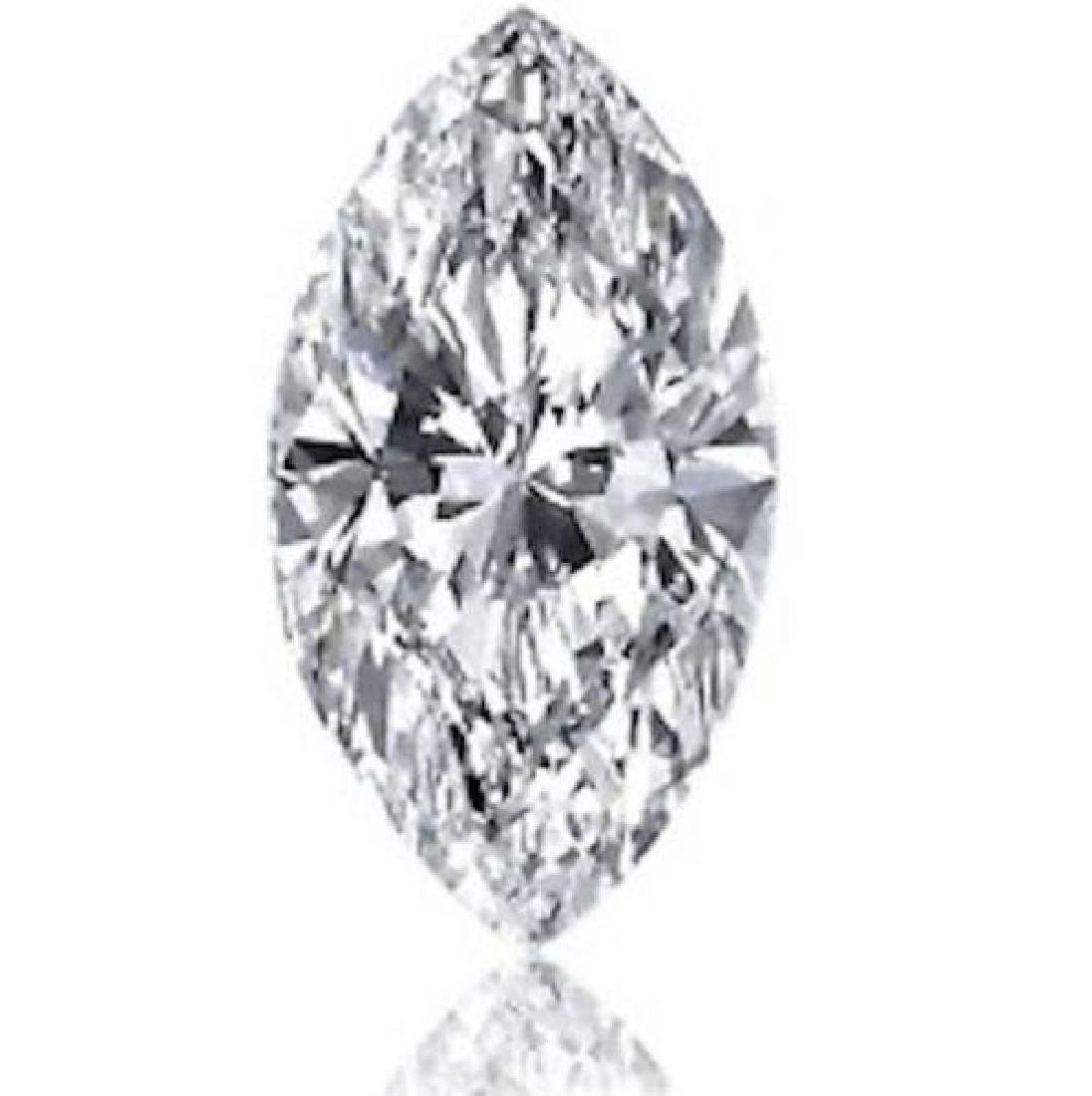 3.68cts Marquise Bianco Diamond 6AAAAAA - Loose