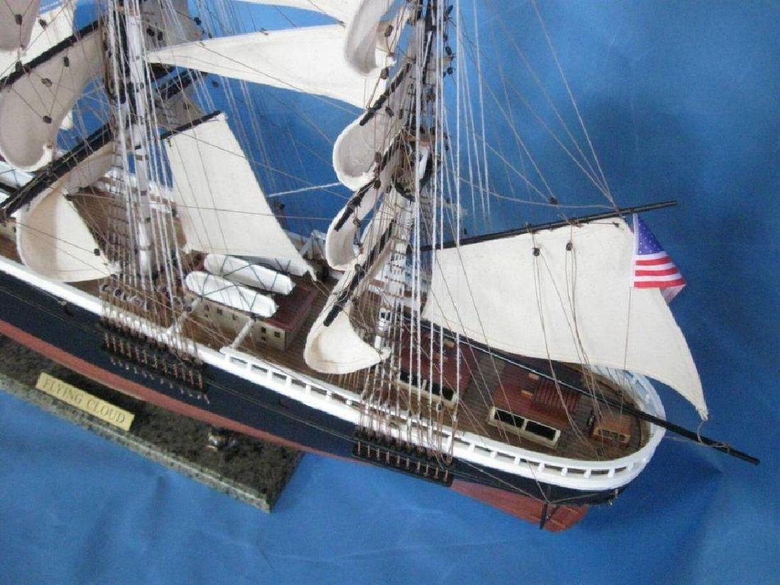 "Flying Cloud 50"" Tall Model Ship Limited - 3"