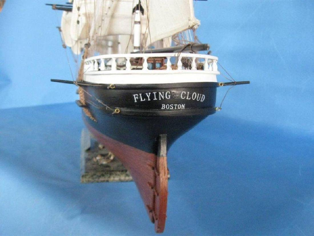 "Flying Cloud 50"" Tall Model Ship Limited - 5"