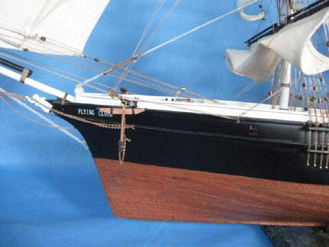 "Flying Cloud 50"" Tall Model Ship Limited - 6"