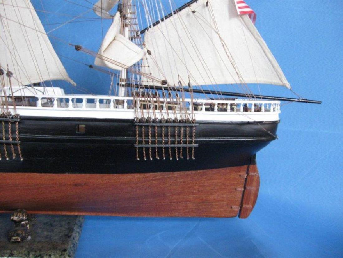 "Flying Cloud 50"" Tall Model Ship Limited - 8"