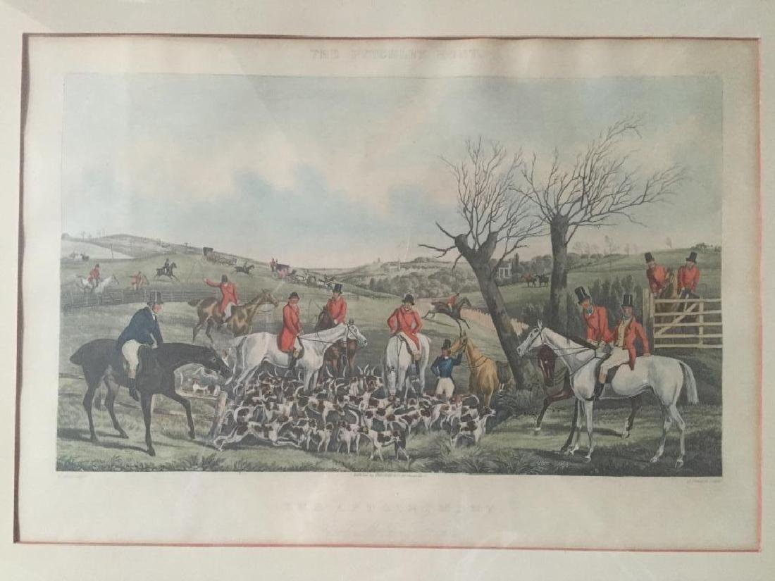 After H. Alken Late 19thc Fox Hunting Print - 3