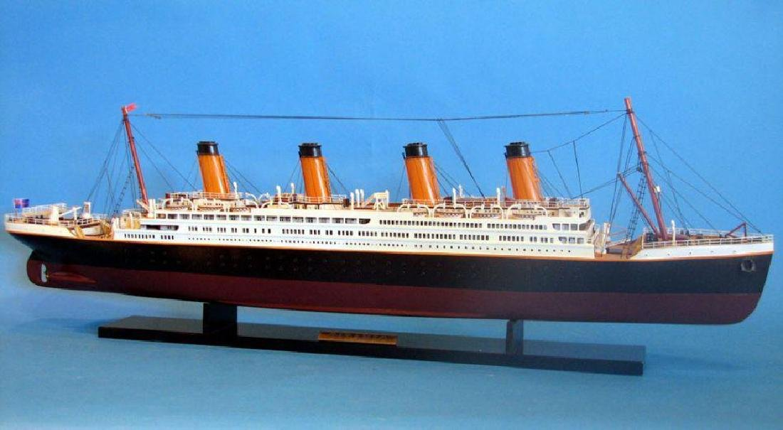 RMS Titanic Model Cruise Ship 40'' - 6