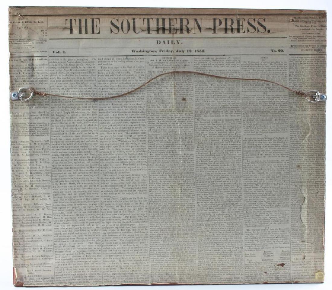 19thc Newspaper Print Train Station Atlanta GA - 2