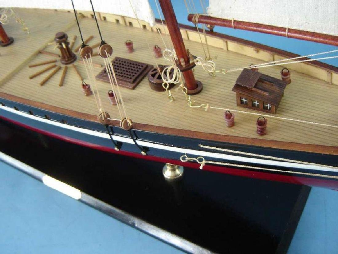 "Wooden America Model Sailboat Decoration 50"" Limited - 2"