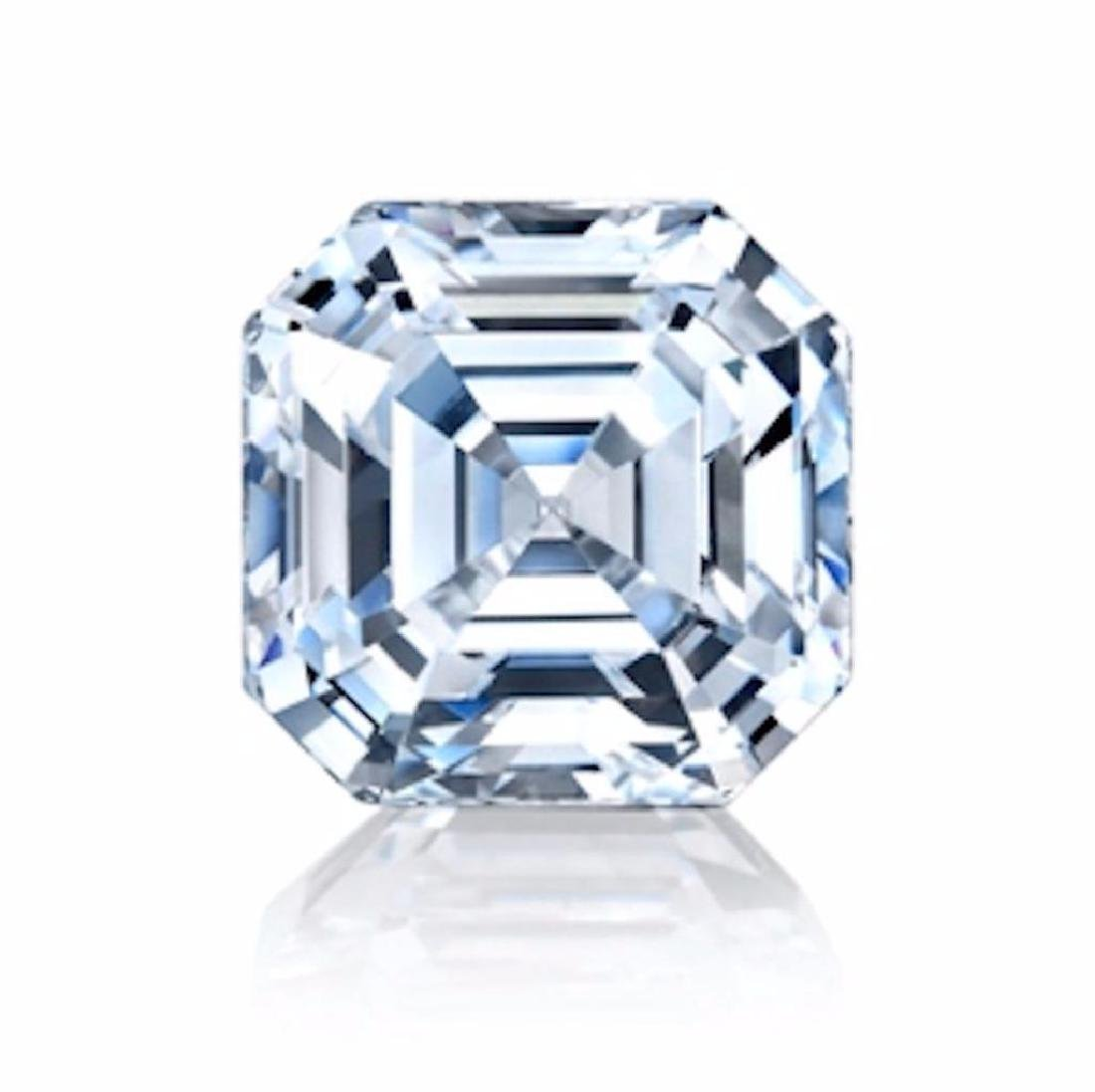 2.04cts Asscher Cut Bianco Diamond 6AAAAAA - Loose
