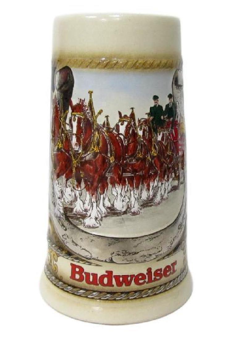 Budweiser German Staffel Stoneware Stein