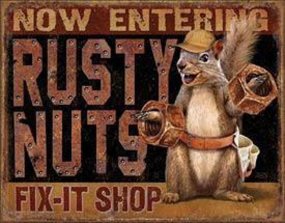 Rusty Nuts Fix It Shop