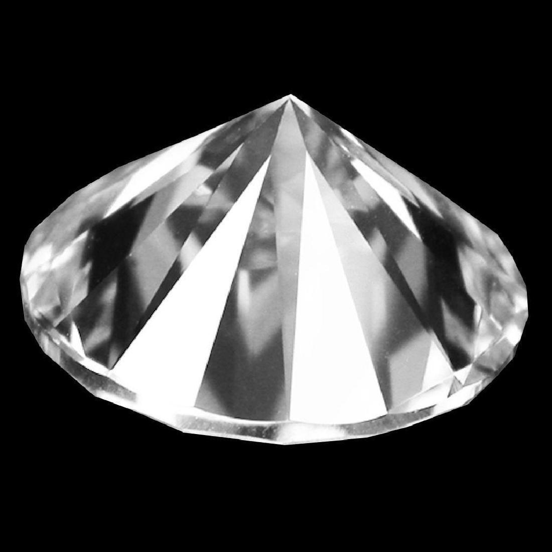 1.28cts Bianco Diamond Grade 6AAAAAA - Loose Stone - 2