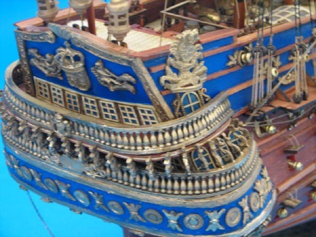 "San Felipe Limited Tall Model Ship 38"" - 3"