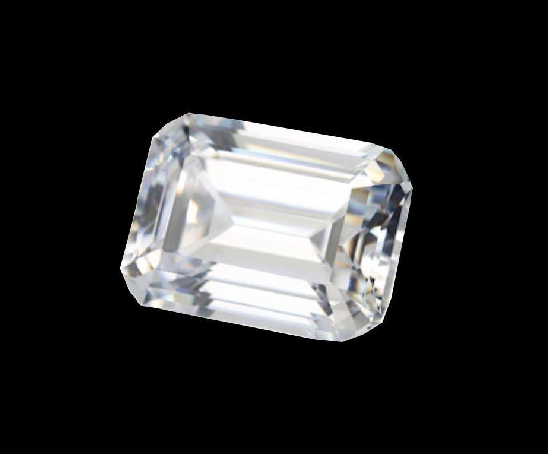 Exceptional, clean, 6 Ct, Emerald Step-cut BIANCO