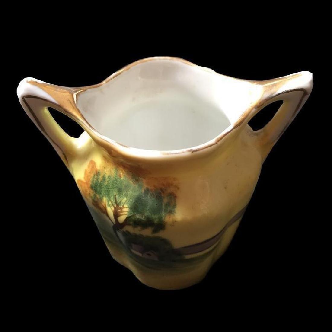 Vintage Noritake Tree In Meadow Toothpick Vase - 2